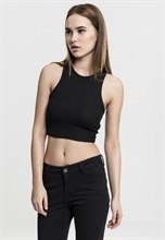 Urban Classics - Cropped Rib Top, Girl-Shirt