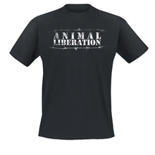 Animal Liberation Stacheldraht - T-Shirt