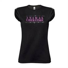 Animal Liberation Stacheldraht - Girl-Shirt
