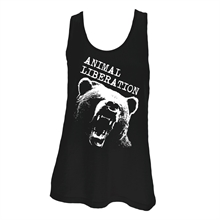 Animal Liberation Bär - Girl-Longtop