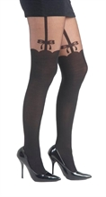Pamela Mann - Side Bow Suspender, Strumpfhose