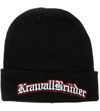 KrawallBr�der - Logo, Strickm�tze