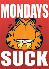 Garfield - Mondays suck, Poster