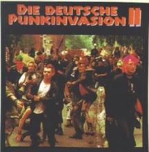 Deutsche Punkinvasion II - Aufkleber