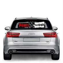 Pöbel & Gesocks - Autoaufkleber