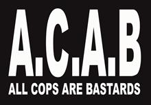 A.C.A.B. - Aufkleber