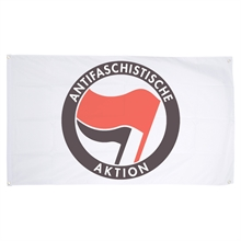 Antifaschistische Aktion - Fahne