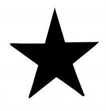 Stern - Aufnäher
