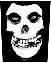 Misfits - Skull, Rückenaufnäher