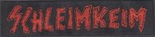 Schleimkeim - Logo, Aufnäher