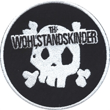 Wohlstandskinder - Totenkopf, Aufnäher