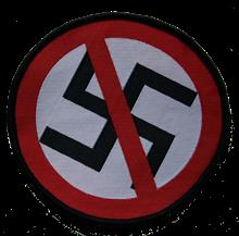 No Nazis - Aufnäher