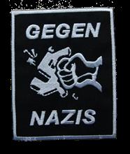 Gegen Nazis - Aufnäher