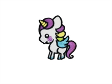 Unicorn - Aufnäher