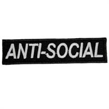 Anti-Social - Aufnäher