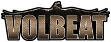 Volbeat - Raven Logo, Aufnäher