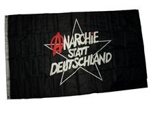 Anarchie statt Deutschland - Fahne