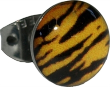 Ohrstecker - Zebra