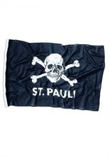 St. Pauli - Totenkopf, Fahne klein