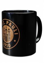 St. Pauli - Logo Bronze Kaffeebecher