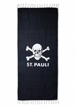 St. Pauli - Totenkopf, Strandtuch Jaquard