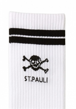 St. Pauli - Totenkopf, Tennissocken