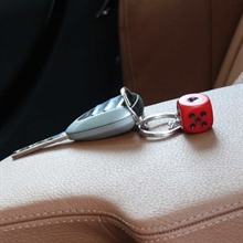 Schlüsselanhänger- Würfel