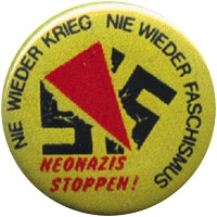 Neonazis stoppen - Button