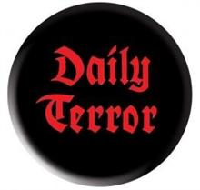 Daily Terror - Logo - Button