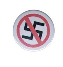 No Nazis - Button