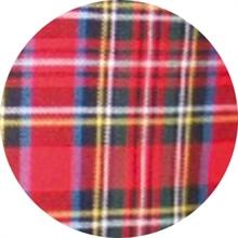Tartan Red - Button