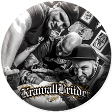 KrawallBrüder - Tattoo Band, Button