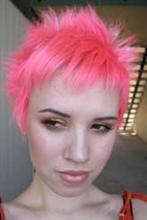 Manic Panic - Pretty Flamingo, Haartönung