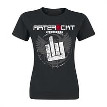 Artefuckt - Classic Wings, Girl-Shirt