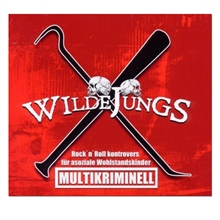 Wilde Jungs - Multikriminell, CD