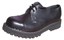 Steel - Full Black, 3-Loch Boots