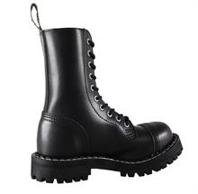 Steel - Full Black, 10-Loch Boots