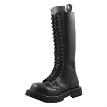 Steel - Full Black, 20-Loch Boots