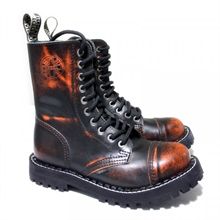 Steel - Rub Off, 10-Loch Boots
