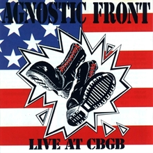 Agnostic Front - Live at CBGBs, CD