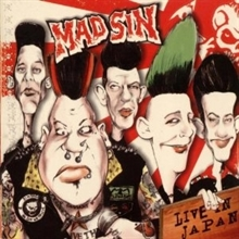 Mad Sin - Live in Japan, CD